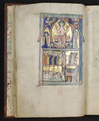 Second Coming and Last Judgement, in the Huth Psalter